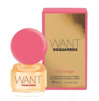 DSQUARED2  WANT PINK GINGER Tester edp 100ml NEW 2016