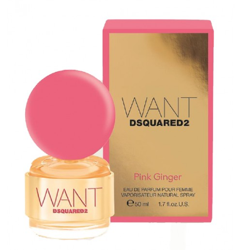 DSQUARED2  WANT PINK GINGER  edp 30ml NEW 2016