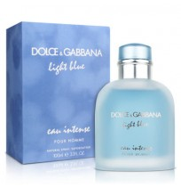 D&G LIGHT BLUE POUR HOMME EAU INTENSE Tester edp 100ml NEW 2017