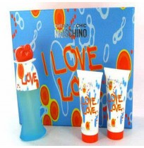 MOSCHINO chep&cheek  I LOVE LOVE set (50ml+100 s/g+100 b/l)