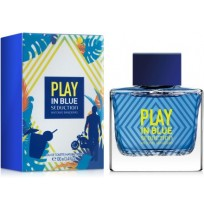 A.BANDERAS BLUE SEDUCTION PLAY Tester 100ml NEW 2017