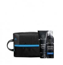 COLLISTAR TOTALE NON-STOP 24h set (75 ml+doccia-shampoo 3in1+пена д/бр 200+BAG)
