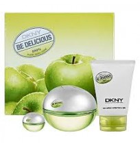 DKNY be DELICIOUS WOMEN edp SET (EDP30ml+Bodi los 100ml)