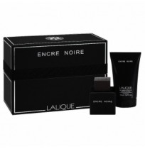 Lalique Набор Encre Noire Pour Homme set (edt 50ml+sh/gel 150ml)
