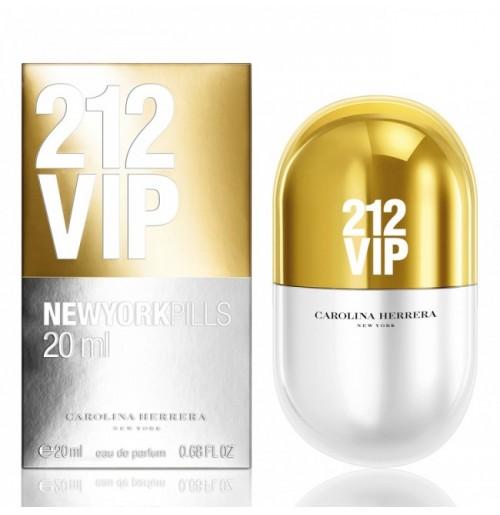CAROLINA HERRERA 212 VIP NEWYORK PILLS 20ml NEW 2019