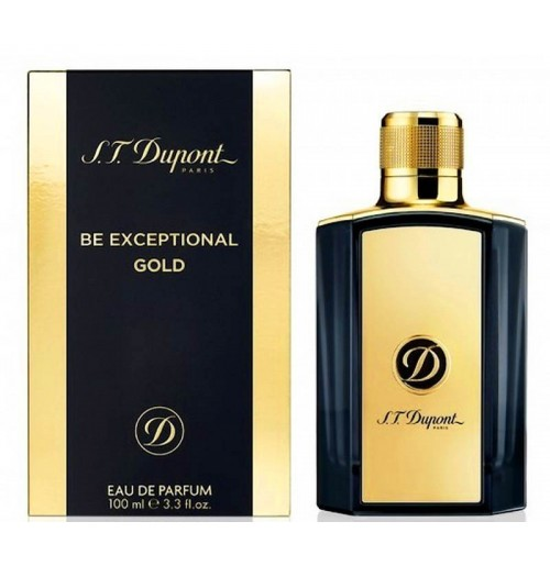 DUPONT BE EXCEPTIONAL GOLD 50ml NEW 2018