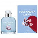 D&G LIGHT BLUE LOVE IS LOVE POUR HOMME Tester 125ml NEW 2020