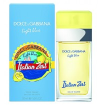 D&G LIGHT BLUE ITALIAN ZEST EDT 50ml NEW 2018