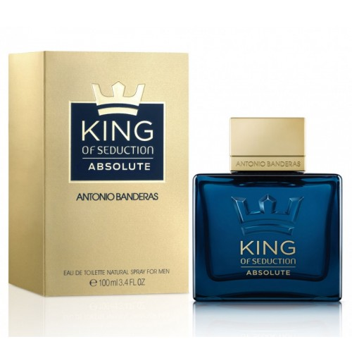 A. Banderas  King of Seduction Absolute 50ml NEW 2015