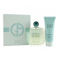 ARMANI ACQUADI GIOIA travel set (100ml edp +75 b\l)