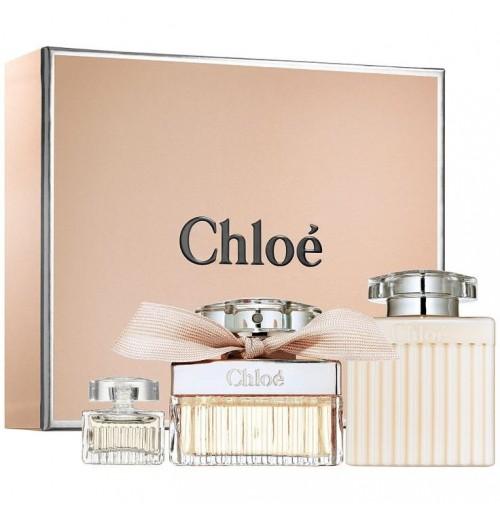 CHLOE set (75ml edp  +100 b\l + 5ml mini )