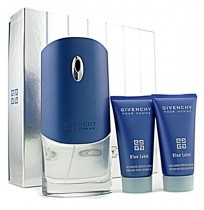 GIVENCHY pour HOMME BLUE LABEL set (100ml+s/g 75+a/s 75)