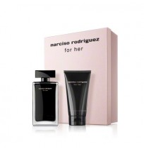 N.Rodriguez  FOR HER Eau de toilette  Set (100ml + 75b\l)